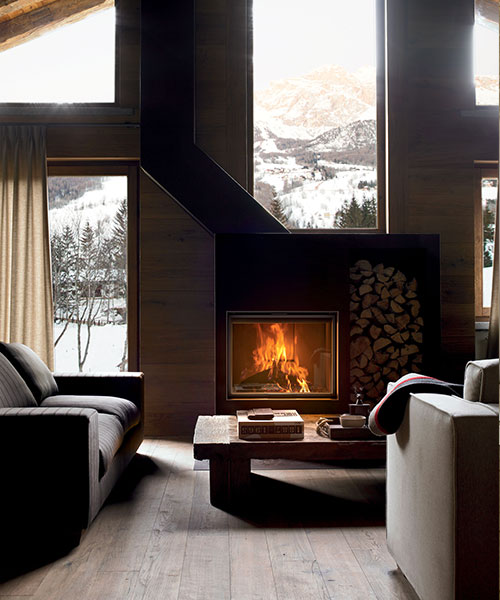 Plasma design fireplace by MCZ