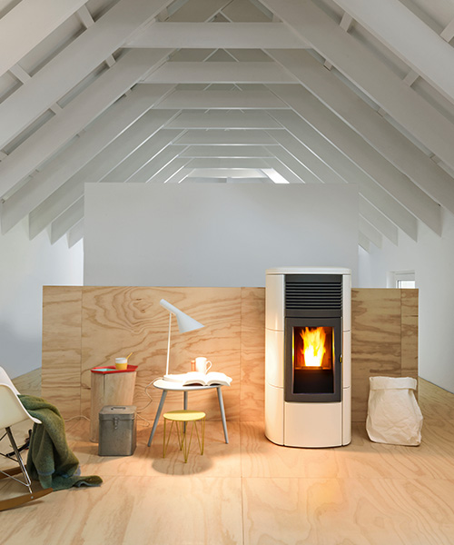 Ducted pellet stove Club MCZ