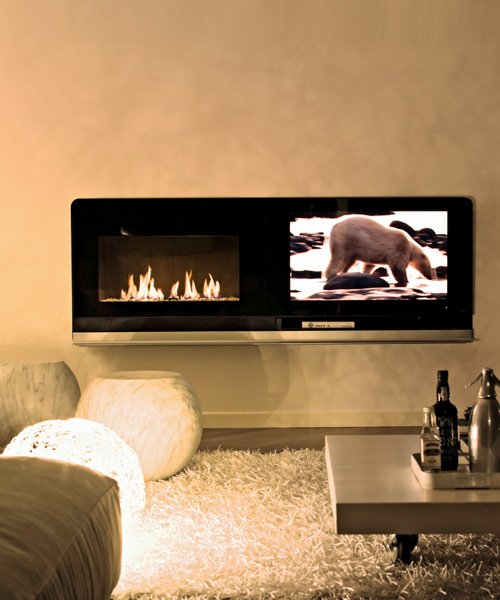 Gas fireplace MCZ