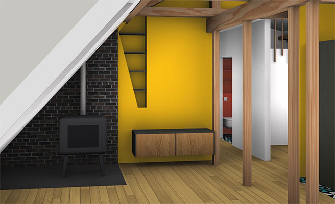 pellet-stove-in-a-loft-11