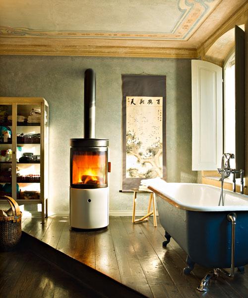 Wood-burning stove Stub MCZ