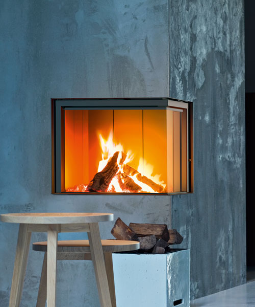 Wood fireplace Forma 75 sx MCZ