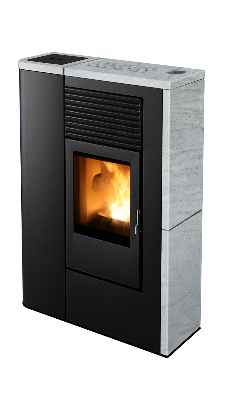 Pellet and Wood Stoves for Small Spaces - MCZ