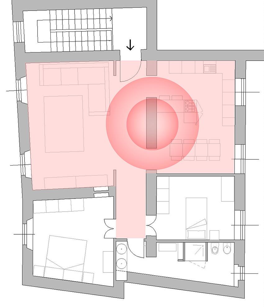camino-a-legna-in-ristrutturazione-planimetria
