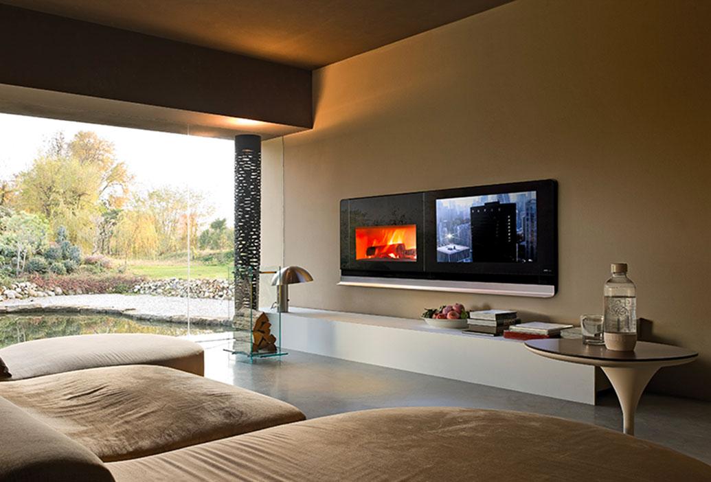 vivo 90 wood fireplace
