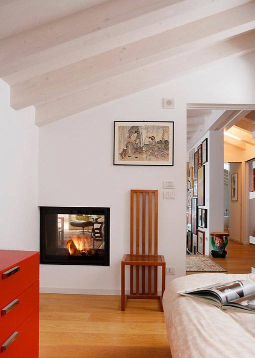 camini bifacciali modelli mcz. Black Bedroom Furniture Sets. Home Design Ideas