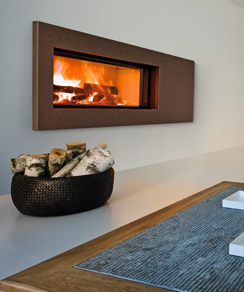 Forma design fireplace by MCZ