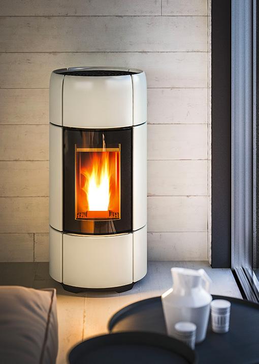 Designer pellet stove Curve MCZ