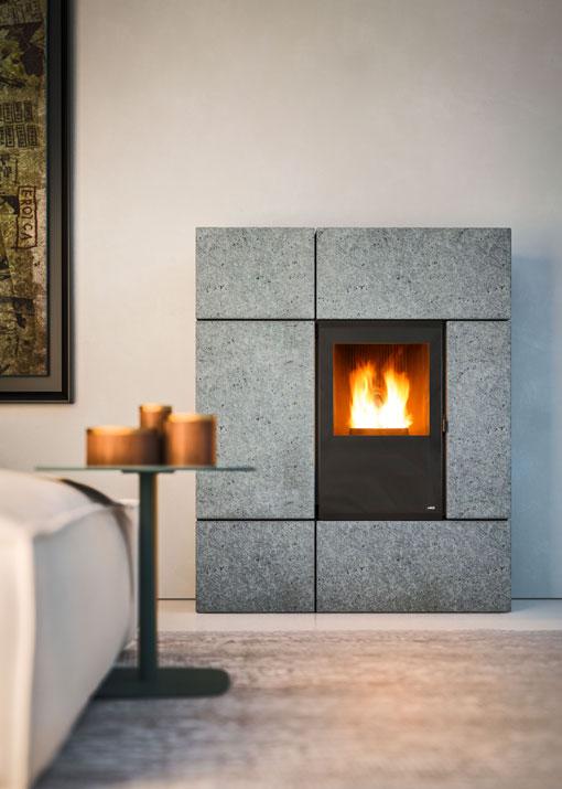 Designer pellet stove Stream MCZ