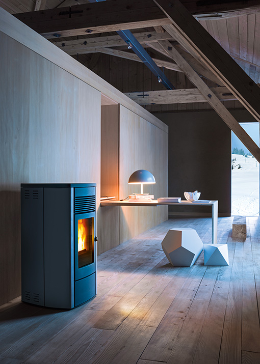 This Stove Is Available In The AIR And COMFORT AIRR Versions Or Completely Sealed Version With OYSTER Technology Can
