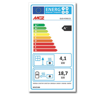 Energy labelling for pellet stoves and fireplaces
