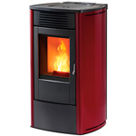 Pellet and wood stoves for small spaces mcz - Pellet stoves for small spaces set ...