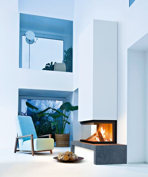 Fireplace cladding MCZ