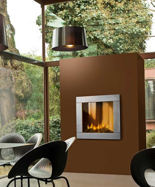 Gas fireplace MCZ