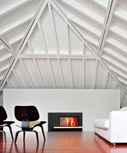 Forma modern fireplace by MCZ
