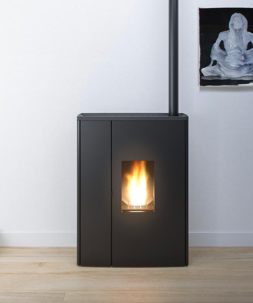 moderne pellet fen mcz. Black Bedroom Furniture Sets. Home Design Ideas