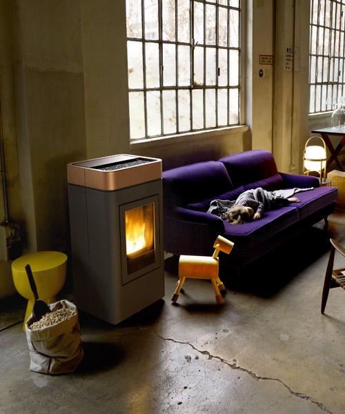 Pellet stove Cap by MCZ