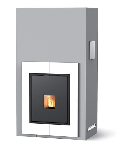 Vivo 85 pellet fireplace mcz - Poele a bois chargement lateral ...