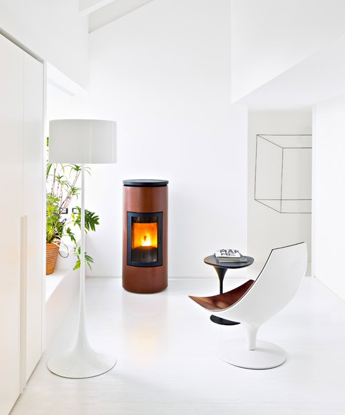 Pellet and wood stoves for small spaces mcz - Mini stufe a pellet ...