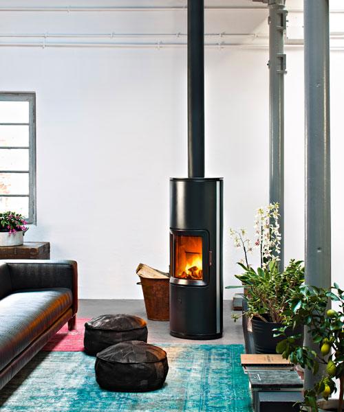 Wood-burning stove Stripe Overnight MCZ