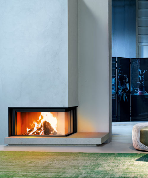 Wood fireplace Forma 95 sx MCZ