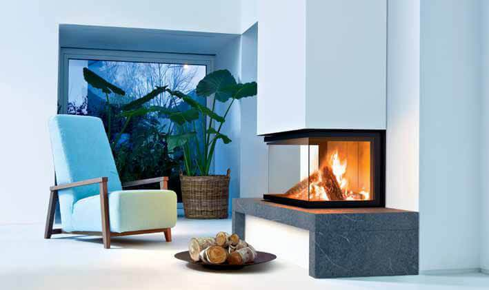 Wood stoves and fireplaces MCZ